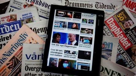 Aviser på nett